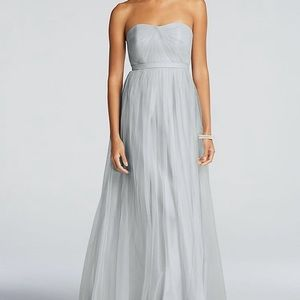 David's Bridal Versa long tulle dress